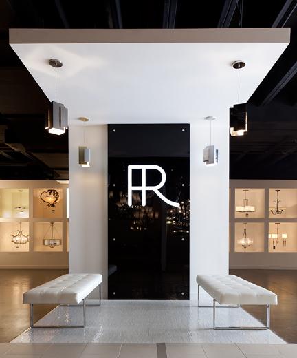 Showroom lobby interior design by lisa mcdennon