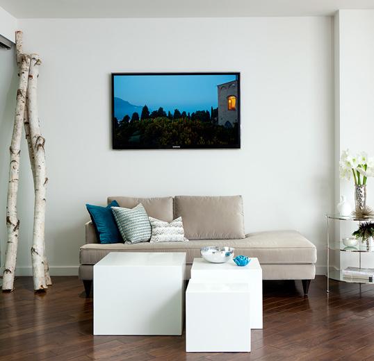 Modern interior design concept for Hinkley Lighting