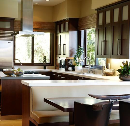 European designed custom kitchen: Newport Beach
