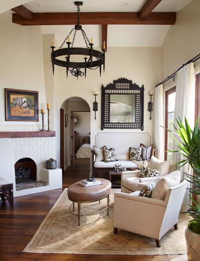 Living room interior design: Laguna Beach