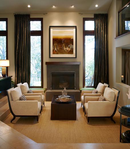 Coastal living room interior design: Newport Beach